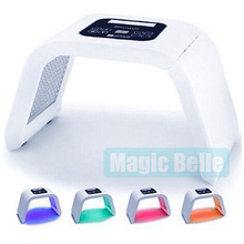 CE Certificated 4 color acne skin care LED light therapy PDT