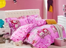 wholesa Home textile,Fashion Reactive Print 4 Pcs bedding sets luxury include 1Duvet Cover +1 Bed sheet + 2Pillowcases
