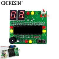 CNIKESIN רמזור 51 MCU diy חבילת עיצוב עיצוב כמובן של תהליך ייצור אלקטרוני נתונים!