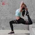S-XL 3 Цвета женская Тренировки Леггинсы Мода Приключения Время Чистая Пряжа Леггинсы Активные Дышащие Тонкие Черные Леггинсы Женщин