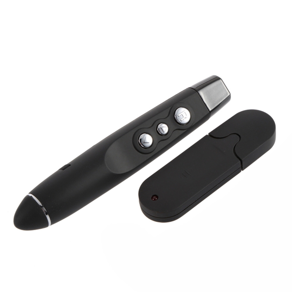 Wireless Power Point Presentation USB Presenter Remote with Laser Pointer Wholesale Store