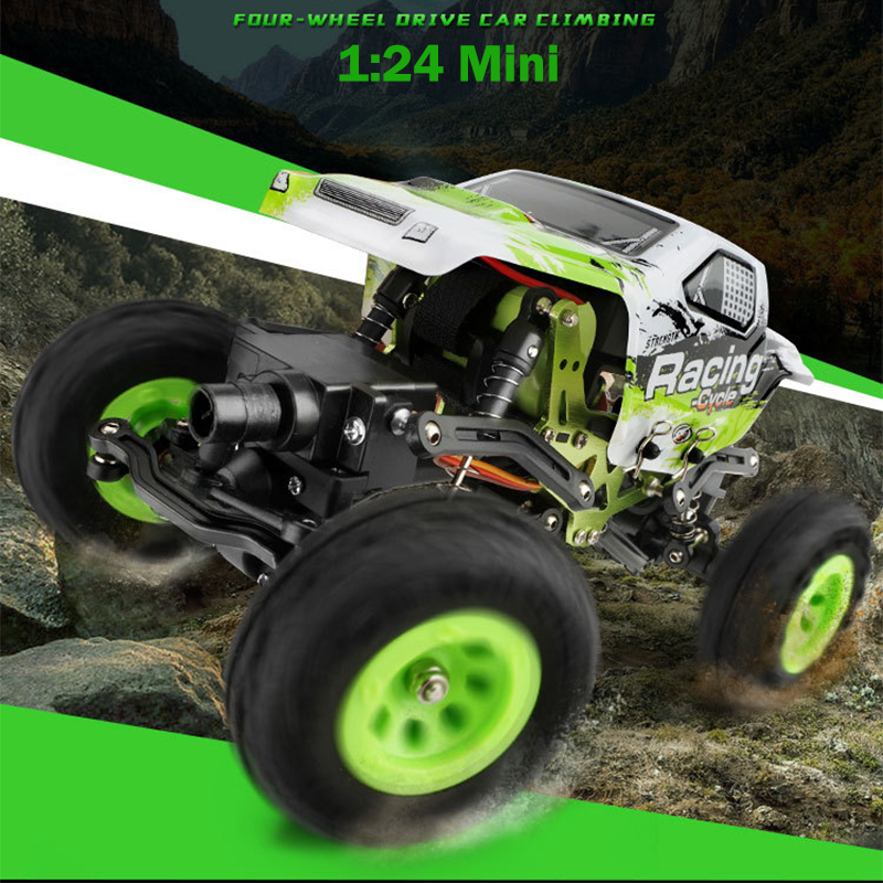 New Wltoys 1:24 RC Racing Car Scale 4WD Off-road Remote Control Car Toys Machine On The Radio Controlled With Battery  As Gift radio controlled toys