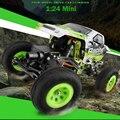Nuevo de Wltoys RC 1:24 Escala 4WD Off-road de Carreras de Coches de Control Remoto car toys máquina en la radio controlado con la batería como regalo