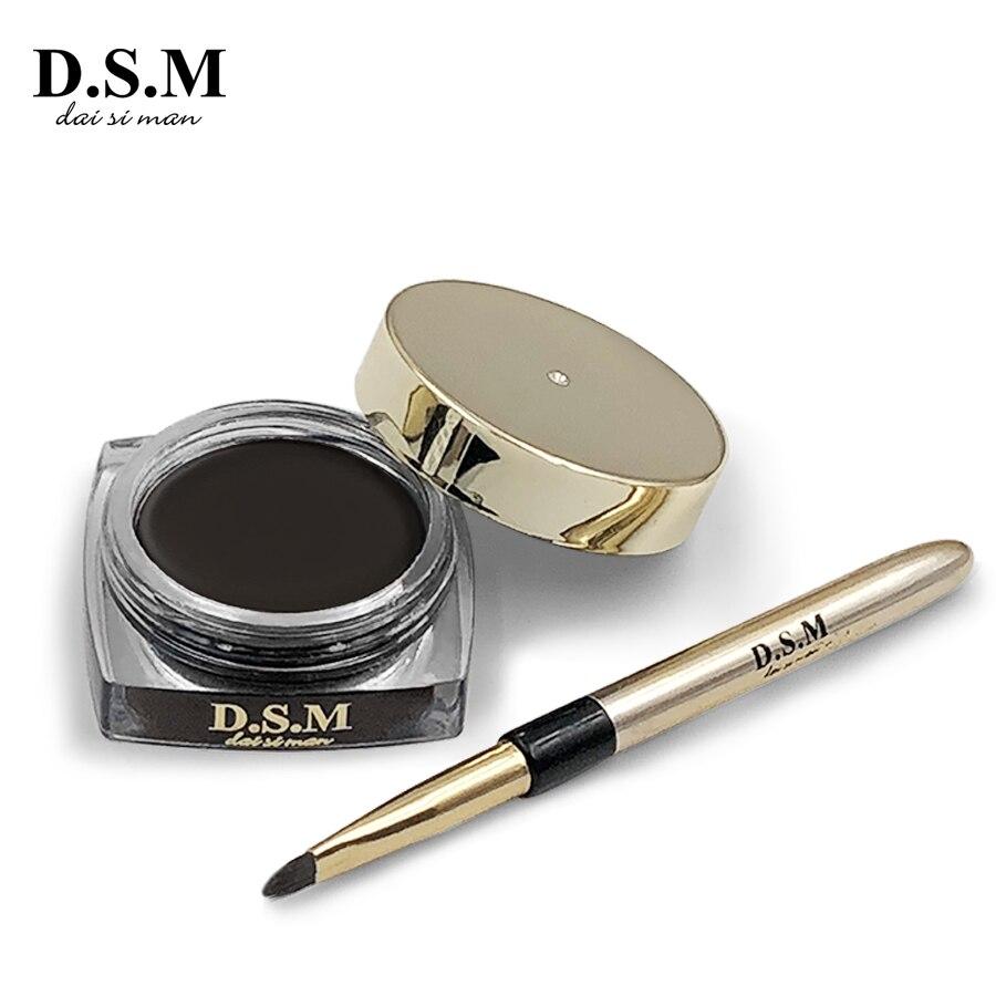 D.S.M Professionale Sopracciglio Crema Shaping Perfetto Trucco Degli Occhi Crema Per Gli Occhi di fronte Impermeabile di Lunga durata Non macchia Gel Sopracciglio trucco