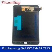 8,0 дюйма для Samsung Galaxy Tab S2 T710 T715 SM-T715 ЖК-дисплей Дисплей Сенсорный экран планшета сборка сенсоров Панель Замена
