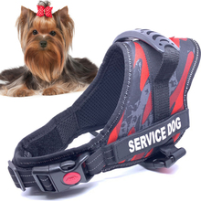 Pet Harnesses Breathable Mesh Reflective  High Quality Rubber  Handle Adjustable  Large Dog Harness For Small Medium Large Dog