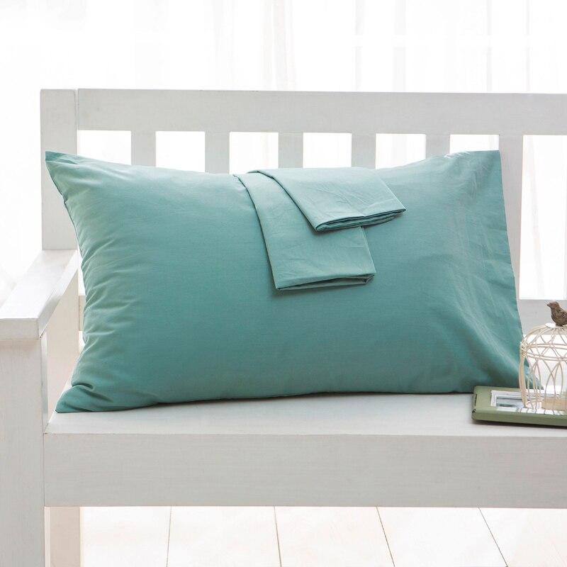 100%Cotton 500TC Hotel Pillowcase Solid Color Pillow Case Bedding 40x60cm 50*70cm70x70cm  50x90cm Pillow Cover Customize AnySize