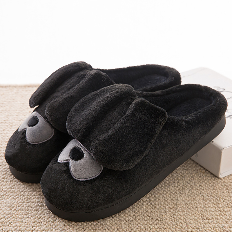 Adult plush slippers Ladies Shoes 2017 fashion basic funny slipper sweet totem winter warm female slippers size 35-40 dreamshining fashion pretty funny winter indoor toe big feet warm soft plush slippers novelty gift adult shoes slipper unisex