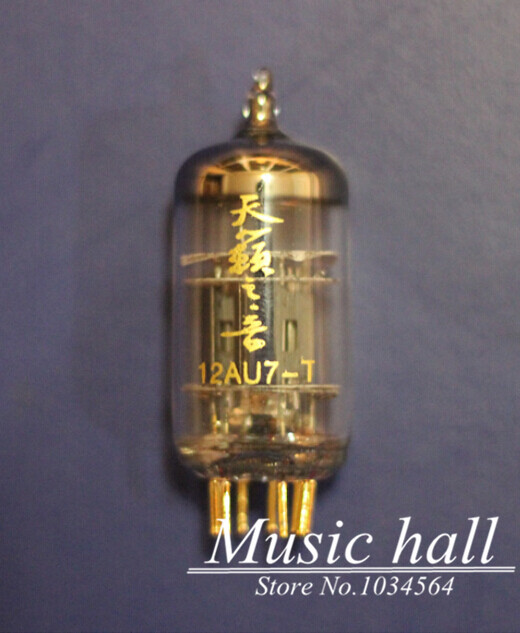 Douk Audio Luxury Shuguang Natural Sound 12AU7-T Audio Vacuum Tube with gold pins 1PCS for tube amplifier Free Shipping music hall shuguang natural sound 12ax7 t audio vacuum tube valve with gold pins 1pcs for tube amplifier