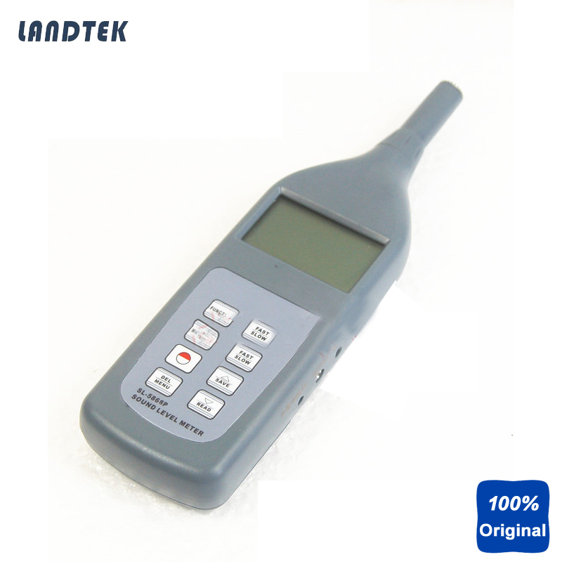 Digital Sound Velocity Meter Portable Sound Level Tester SL-5868P