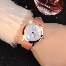 Brand High-Grade Women's Watch Genuine Leather Fashion Casual Leisure Retro Simple And Elegant Factory Outlet Wristwatches