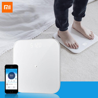 Original Xiaomi Smart Weighing Scale 2 Bluetooth 5.0 Mifit APP Control Precision Health Weight Scale LED Display Digital Scale