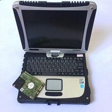 2019 Новые Высокое качество CF19 ноутбук для Panasonic Toughbook диагностический компьютер 160 Гб HDD может работать для MB Star C4 C5/для BMW ICOM A2