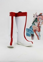 Yu-Gi-Oh Enjeksiyon Peri yetişkin kadın erkek cadılar bayramı karnaval için Zambak Cosplay ayakkabı çizme çizmeler