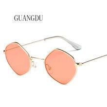 цена на Hot Sale Luxury 2018 New Sunglasses Man Flat Sunglasses Popular Vintage Sunglasses Women UV400 Pink Yellow Gold Lens 10 Colors