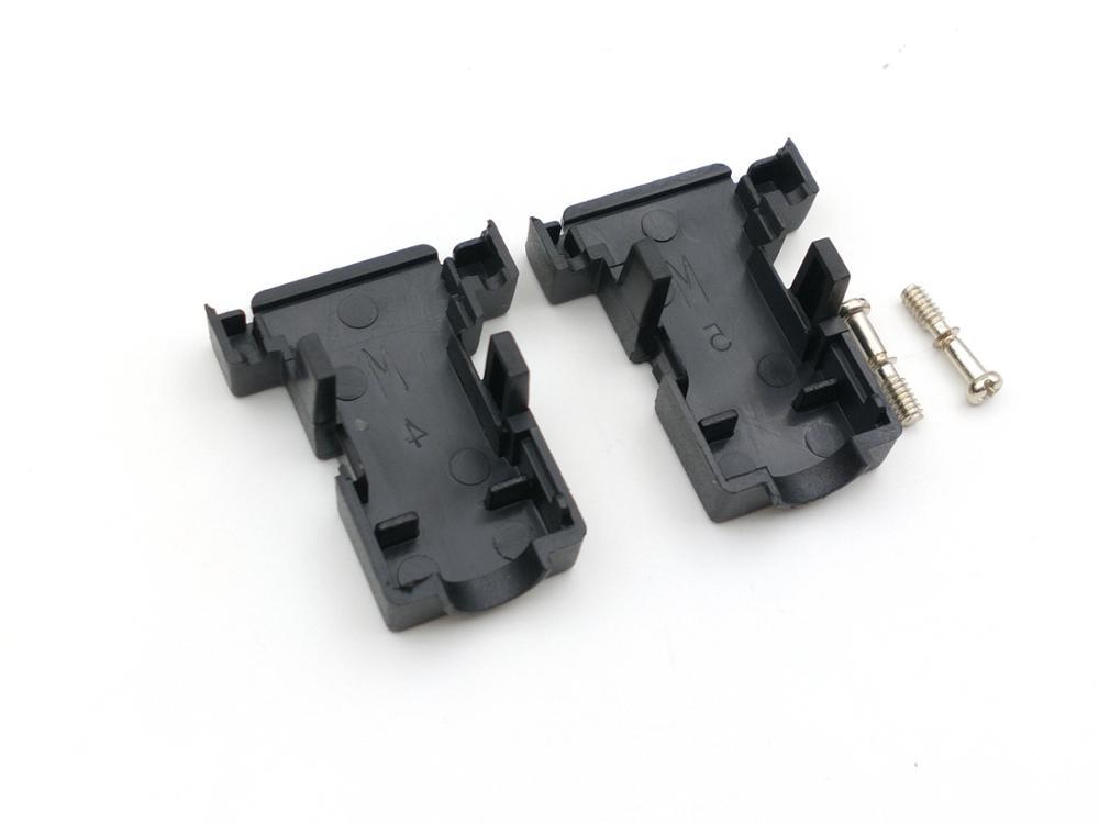 Image 3 - 100 piezas DB9 D Sub cubierta hood de 9 pin 15 pin-in Conectores from Luces e iluminación on AliExpress