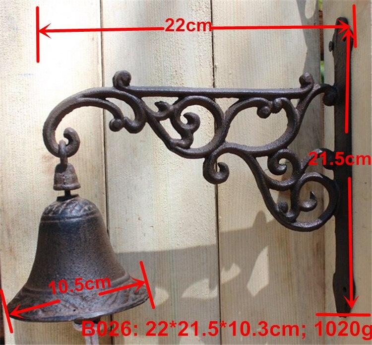 UNILOCKS European Cast Iron Door Bell Bracket цены онлайн