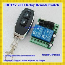 Smart Home Remote Control Switch 2 CH Relay Contact Wireless Switch ASK 2CH Learning Independently RF Receiver NO COM NC 315/433
