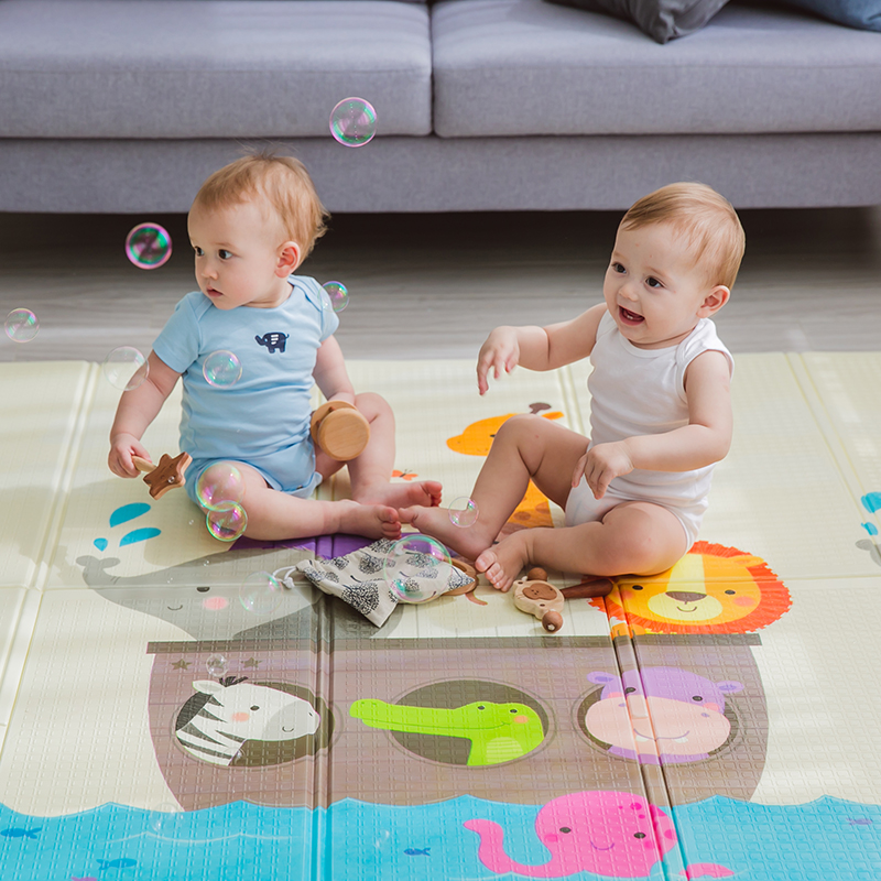 Haute qualité XPE pliable infantile bébé pliant tapis de jeu enfant ramper tapis imperméable antidérapant tapis de jeu bébé tapis