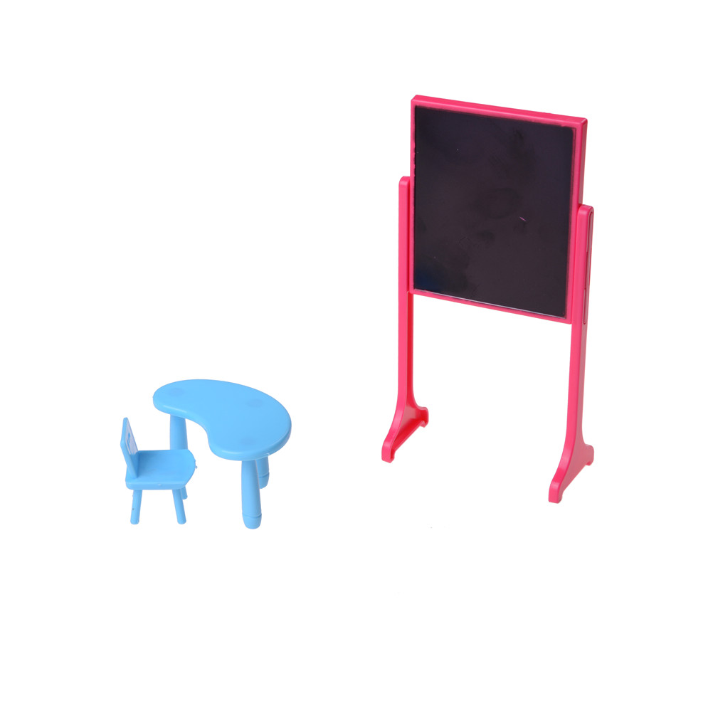 Toys & Hobbies Doll Houses New Dollhouse Miniature Furniture Desk+laptop+chair Model Landscape Sand Model Toy As Effectively As A Fairy Does