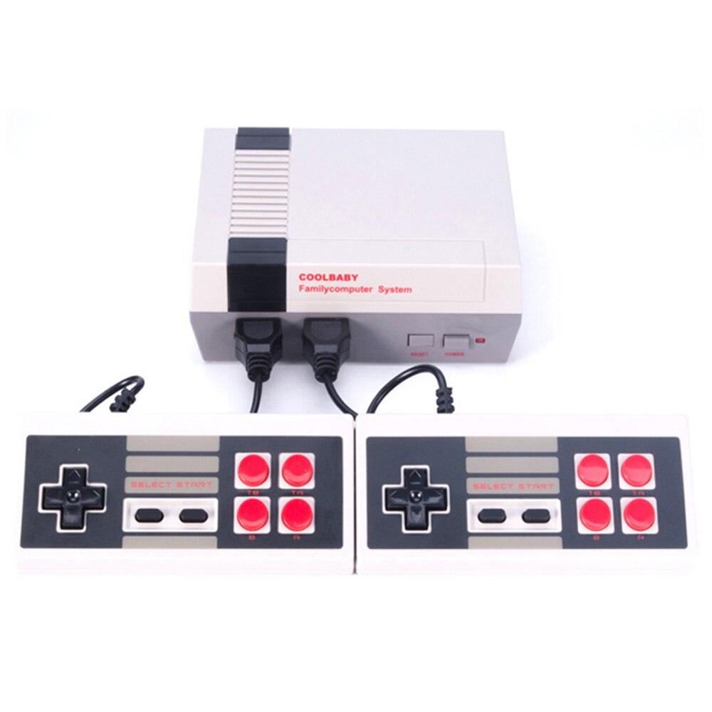 Retro Video Game Console com o Clássico 600 Jogos Internos para 4 K TV PAL & NTSC Saída HDMI/AV TV Mini Handheld Do Jogo