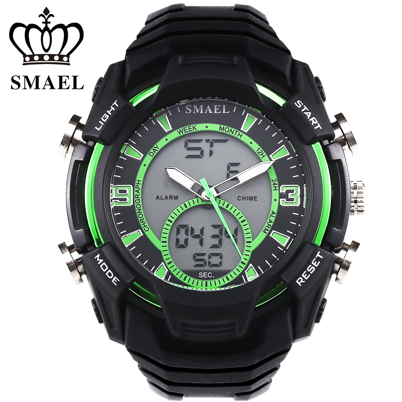Sport Watches for Men 30M Waterproof Dive Watch Fashi