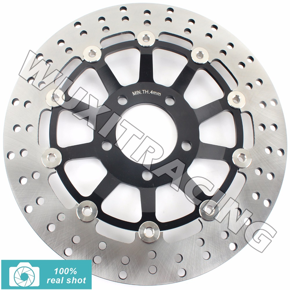 Round Front Brake Disc Rotor for Suzuki GSF BANDIT 250 90-16 GS E 500 88-03 GS500F 04-11 05 06 GS400 89 GSF 400 Bandit 91 92 93