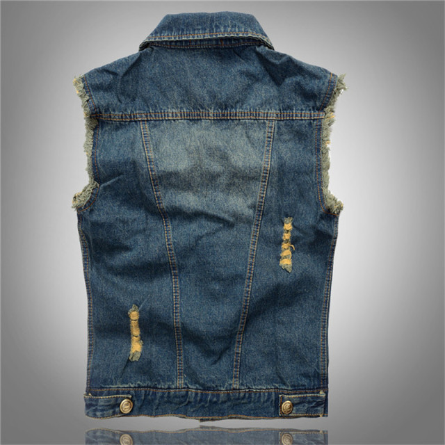 Newest Vintage Design denim vest men women Jeans Vest Sleeveless Jackets Fashion Hip Hop Denim Tank Top Spring Autumn coat