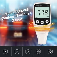 Digital Thickness Gauge Coating Meter Car Paint Tester Portable Mini 0 1500um Automobile Paint Film Test Tool With Backlight