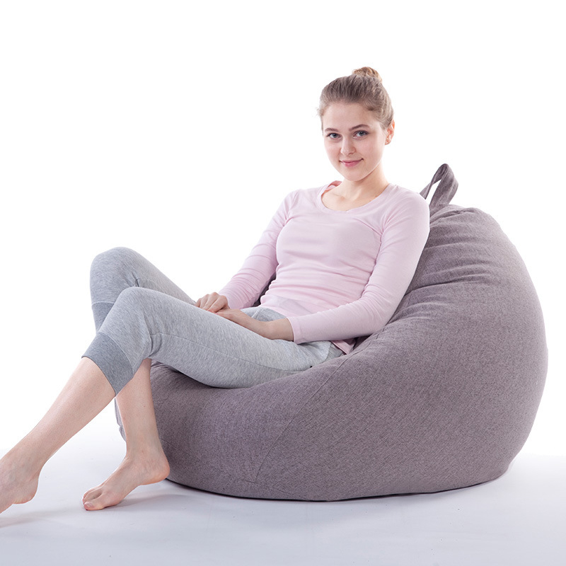 2017 Removable Washable Lazy Bean Bag Sofa Computer Chair Living Room Furniture Leisure Bean Bag Seat Room Corner Sofa 22 Colors ...