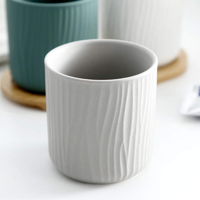 Set Mug Style Ceramic Accessories Cups 123 Cup Nordic Couple Tooth Wash Household Bathroom Washing IbYf76gyv