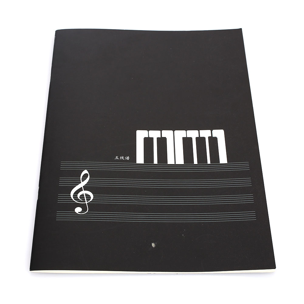 Music Notebook Paper Staff Paper Music Musical Notepad 16 Pages