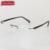 Chashma de calidad superior clear lentes titanium sin rebordes anteojos marcos hombres gafas ópticas marco grande gafas