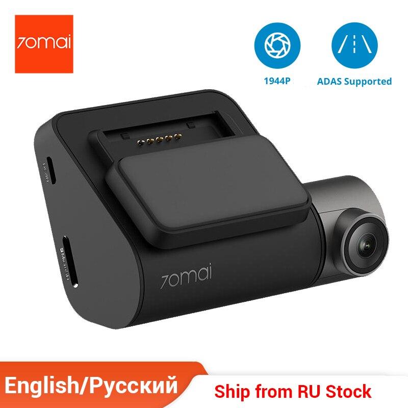 70mai DVR Dash-Cam ADAS Night-Version Pro GPS 1944P Voice-Control HD English 150pix 140-Degree