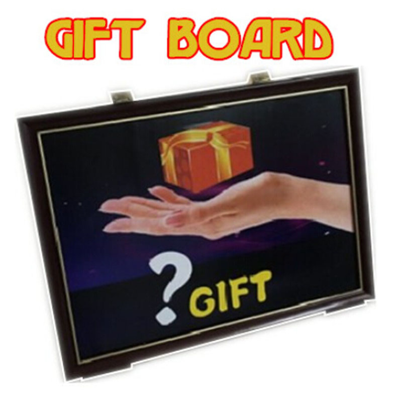 4D Gift Board Trick - Magic Tricks Magician Take Gift box from Frame Picture Stage Illusion Gimmick Accessories Comedy 4d gift board trick magic trick stage illusion gimmick accessories comedy