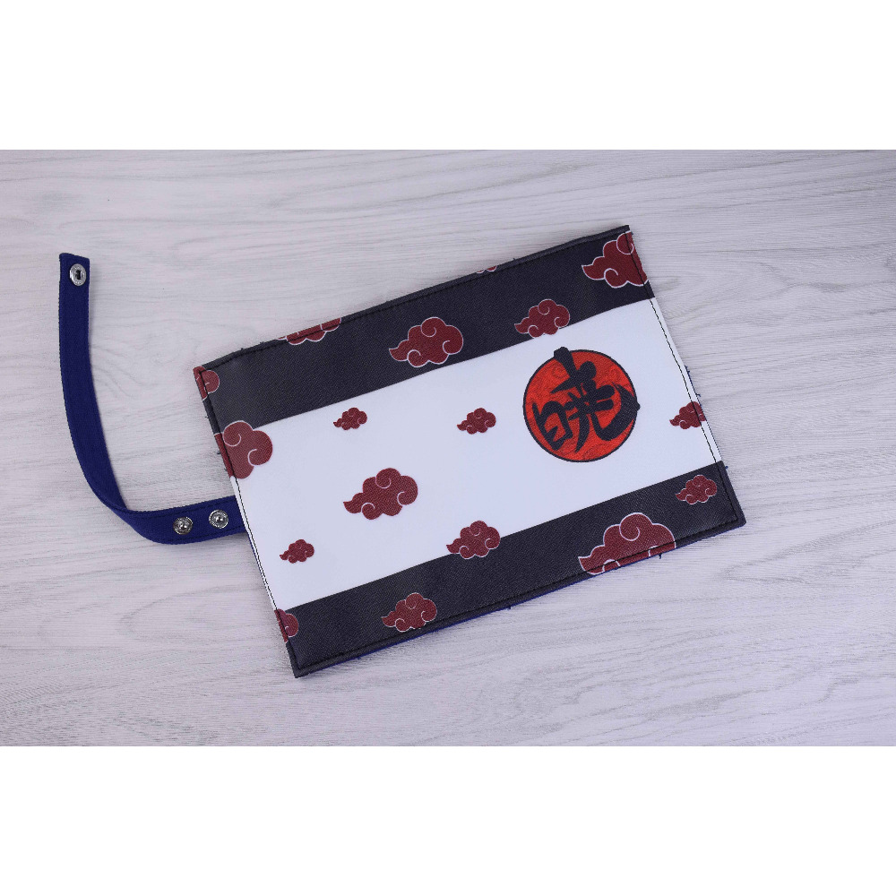 New Arrival: Anime Naruto Shippuden Akatsuki Canvas Children Convenient Pen Storage Scroll Bag