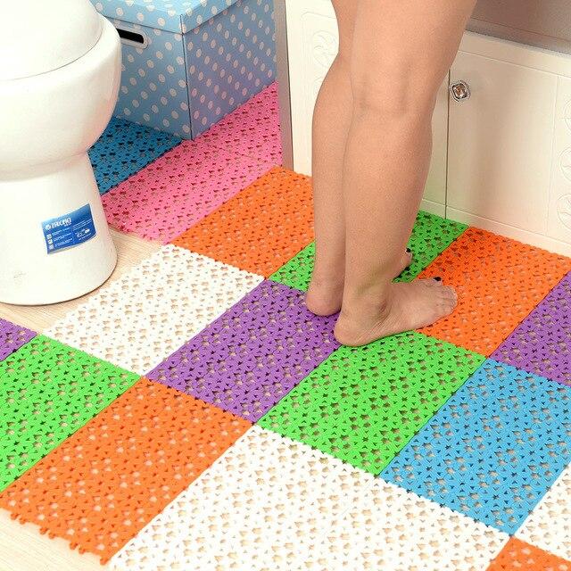 Colori della caramella di Plastica Tappetini Da Bagno Facile Massaggio Bagno Tap