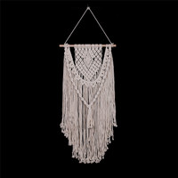 YRHCD Nordic style Hand Weaving Bohemian hanging Tapestry for Living room Decor Macrame Curtains tropic for Wedding decoration