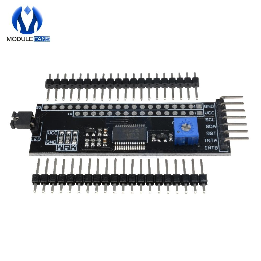 MCP23017 serial Interface module IIC I2C 16-bit I//O expander pins 10mhz Lo