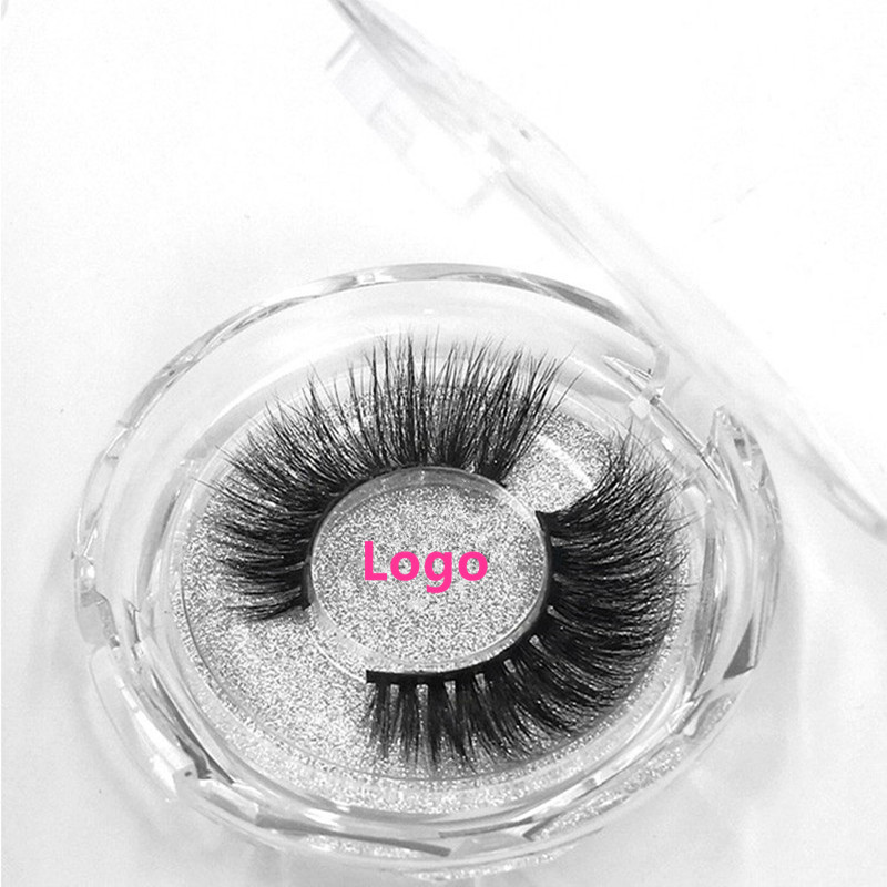 Image 4 - 100 Pairs Free DHL Free Logo Wholesale 18Styles Mink Eyelashes 3D Mink Lashes Invisible Band False Eyelashes Bandless Eye Lashes-in False Eyelashes from Beauty & Health