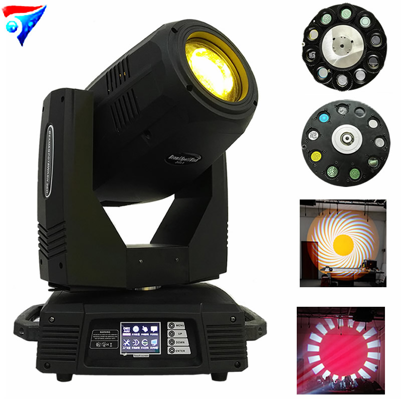 Livraison gratuite 2 pcs/lot 350 W Sharpy Faisceau Spot De Lavage 3in1 Moving Head Light Stage Lighting Forte DJ Lumière 350 W YODN 17R