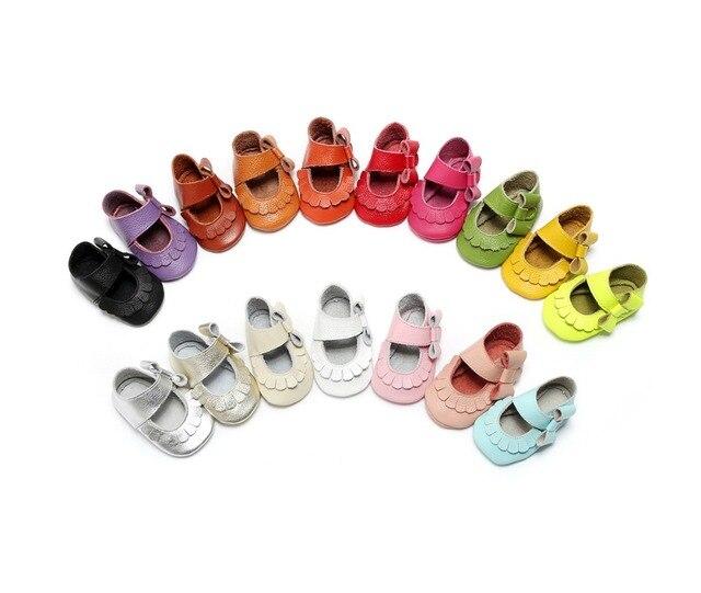 Новый Стиль Младенческой Малыша Детская Обувь Сначала Ходунки Натуральной Кожи Девочка Мальчиков Обувь Мокасины Мягкие Moccs Детская Кроватка Bebe Ребенка обувь