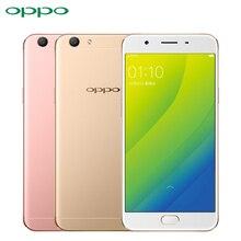 Оригинал Oppo A59S Мобильный Телефон 5.5 дюймов Экран 4 ГБ ОПЕРАТИВНОЙ ПАМЯТИ 32 ГБ ROM MTK6750 Окта основные Android 5.1 16.0MP Камера 3075 мАч смартфон