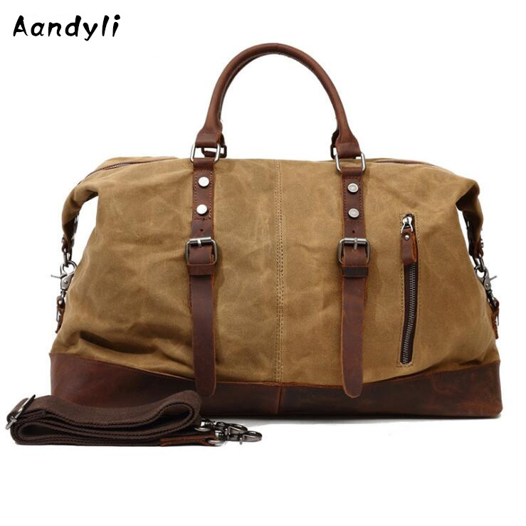 Large capacity Men's Crossbody Bag Laptop Handbag Canvas Men Shoulder bag Ipad Messenger Bag