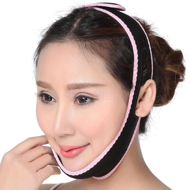 V Line Face Slim Belt Cheek Up Lifting Mask Double Chin Removal