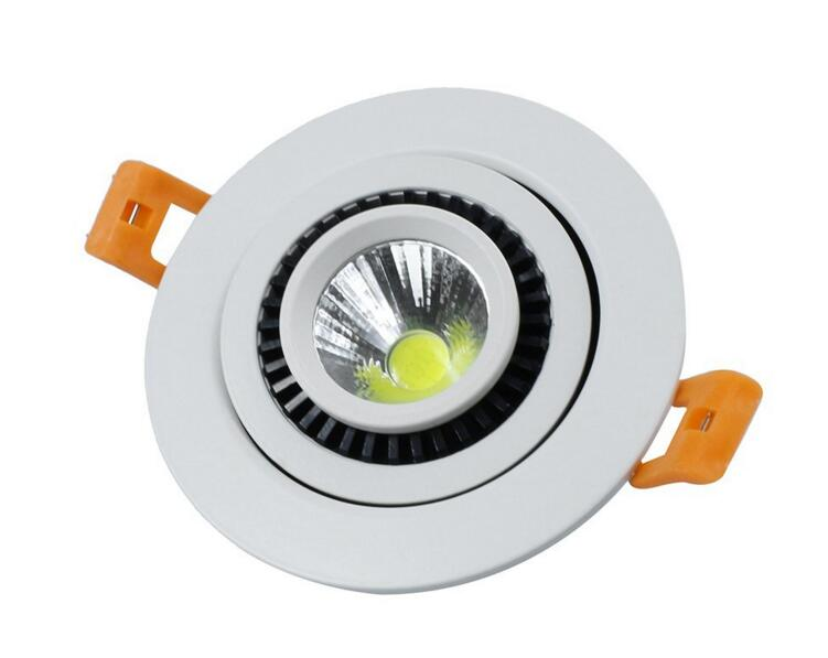 HOT!!! Dimmable7W/10W/15W/20W Round AC85 -265V recessed in indoor led ceiling light warm white/white/cold white with driver