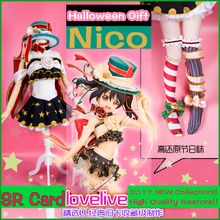 [Reserve] Anime Lovelive! Nico Yazawa Halloween Gift SR Card Full set cosplay costume Gothic Party Lolita dress New 2017