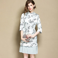 2019 new year party cheongsam chinese dress for ladies