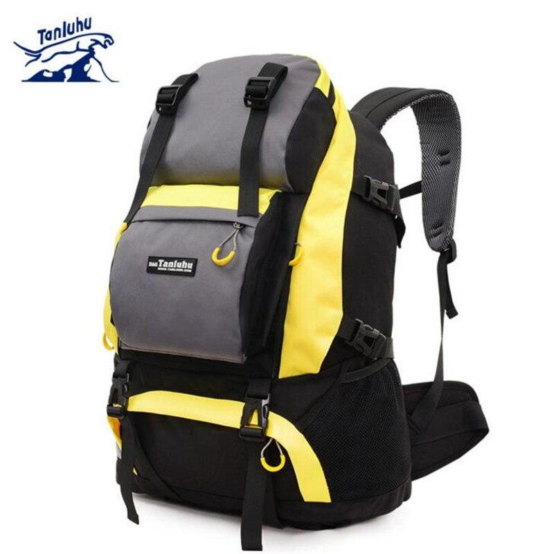 TANLUHU Men Outdoor Military Army Tactical Backpack Trekking Sport Travel Rucksacks Camping Hiking Trekking Camouflage Bag