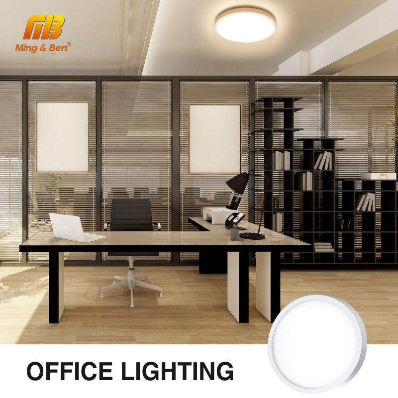 Ultra Thin LED Ceiling Lamp LED Modern Panel Light 48W 36W 24W 18W 9W 6W 85-265V Bedroom Kitchen Surface Mount Flush Panel Light 6